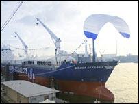 Beluga Skysails (Foto: SkySails GmbH & Co. KG)