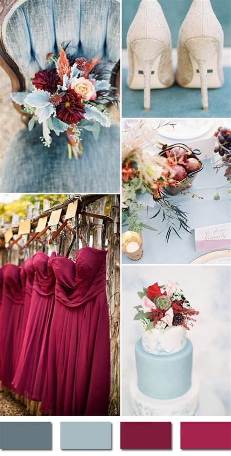 Top 5 Fall Wedding Colors For September Brides