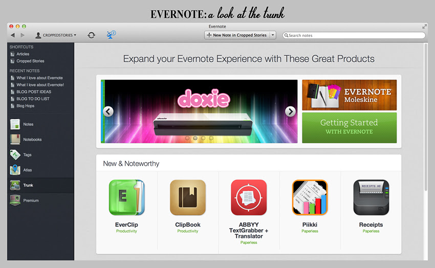 Evernote trunk RS