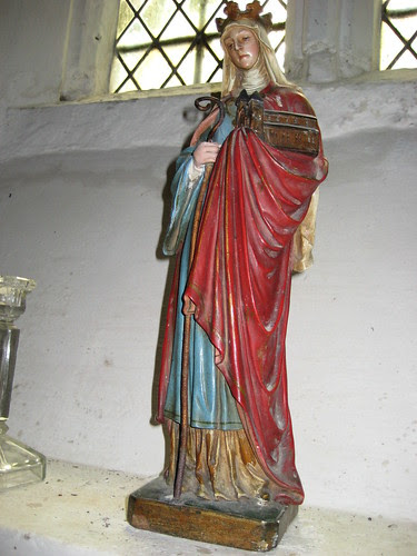 Statue of St. Frideswide