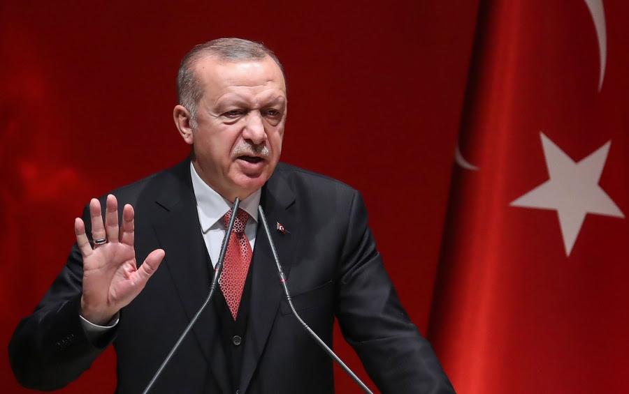 Απτόητος ο Erdogan για τις γεωτρήσεις στην Ανατολική Μεσόγειο: