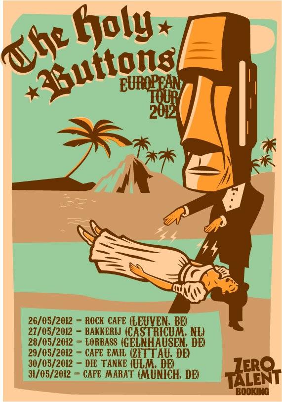 <center>The Holybuttons European Tour 2012</center>