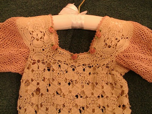 close up of easter dress