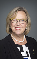 Photo - Elizabeth May - Click to open the Member of Parliament profile