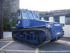 RNLI tractor