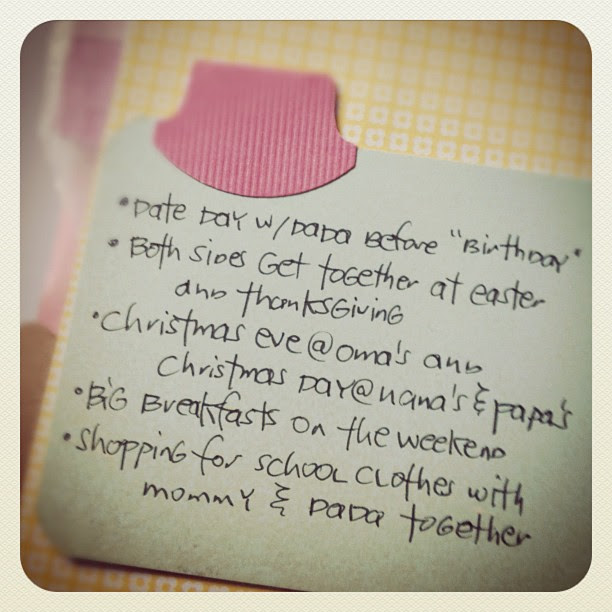 #30daysoflists | Day 18, Family Traditions
