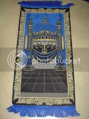 Lambang Yahudi di Sajadah