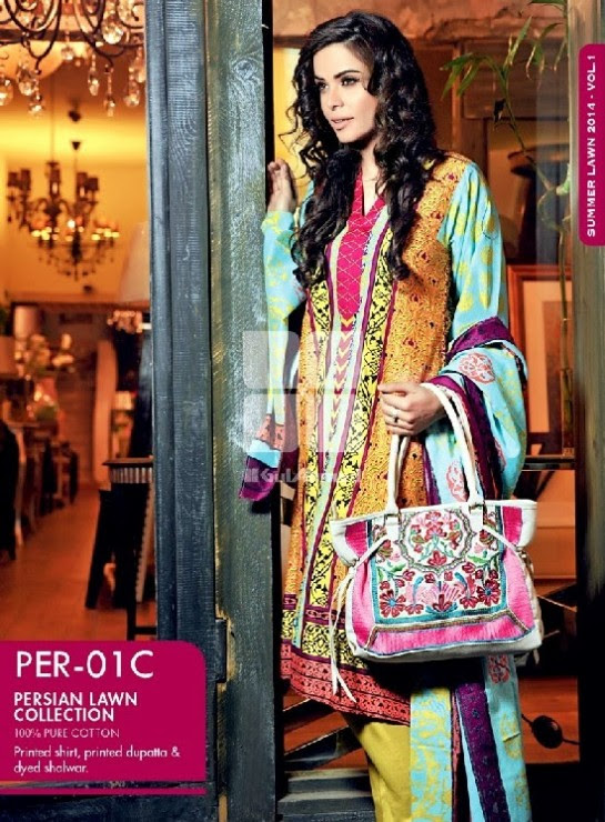 Girls-Wear-Summer-Dress-Chunri-Prints-Block-Prints-Embroidered-Single-Lawn-New-Fashion-Suits-by-Gul-Ahmed-20