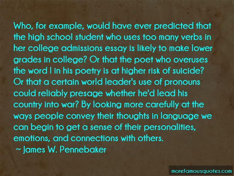 Famous Quotes College Essays Merelynormalga