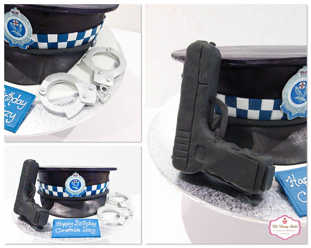 Police Cake Collage