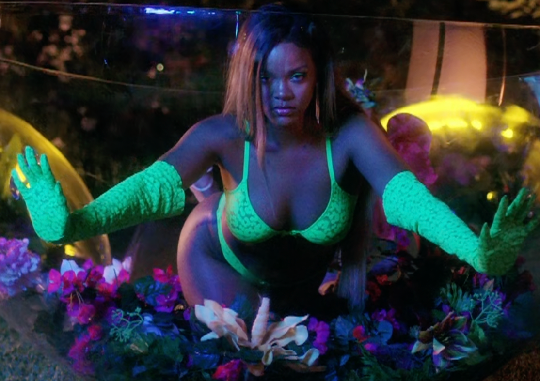 "International Star ""Rihanna"" Slays In Lingerie"