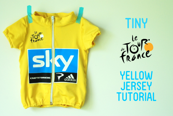 Tiny Tour de France Yellow Jersey Tutorial