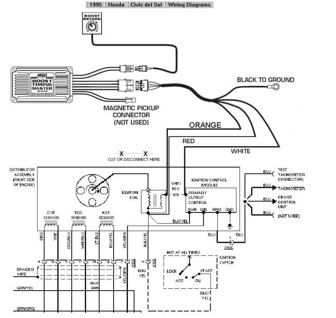 Honda Crv Car Stereo Wiring Diagram