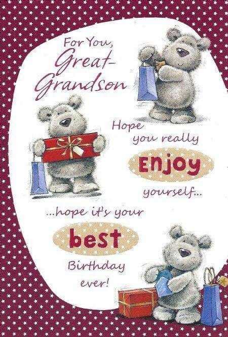 1st/First Birthday Wishes Greetings Quotes for Grandson in
