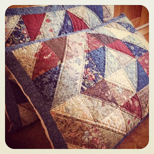 William Morris Pillow Shams