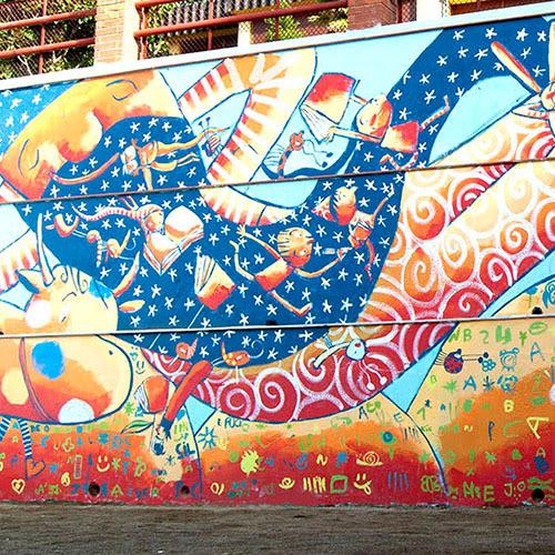 Murals Valenti Gubianas Illustrator Of Books And Murals