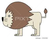 ライオン・獅子・猛獣・哺乳類・キャラクター