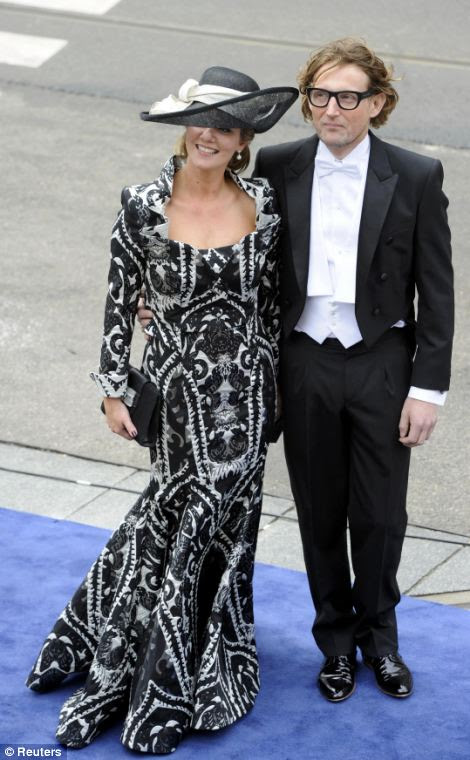 Dutch Prince Bernhard and Princess Annette