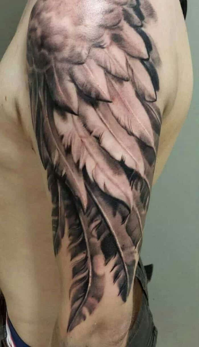 Feather Tattoos For Men Ideas And Designs For Guys