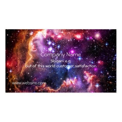 Starry Wingtip of Small Magellanic Cloud Business Cards