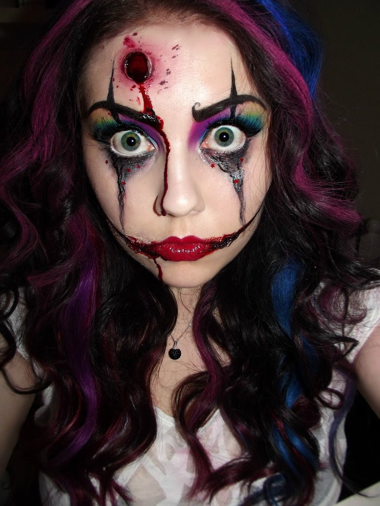 33 Scary Face Ideas For Halloween 10 Is More Than I Can Handle
