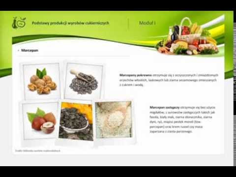 2.1 Półprodukty cukiernicze: kremy i masy