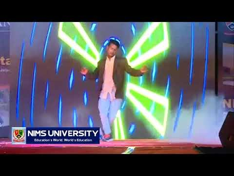 Nims University Student Dance on Abhi Toh Party Shuru Hui Hai in Freshers Party