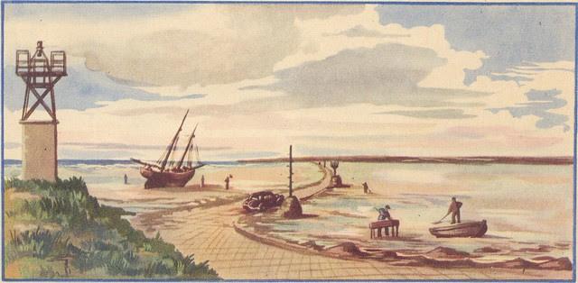 noirmoutier marée basse