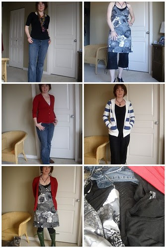 capsule wardrobe challenge: all the outfits