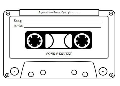 free song request template nautical   Google Search