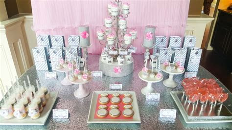 Pink   Silver Bridal Shower