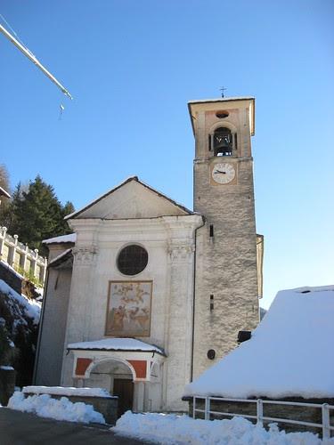 La chiesa di Rossa