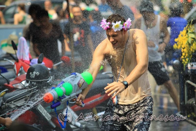 Празднование Нового года в Таиланде. Сонгкран. Фото