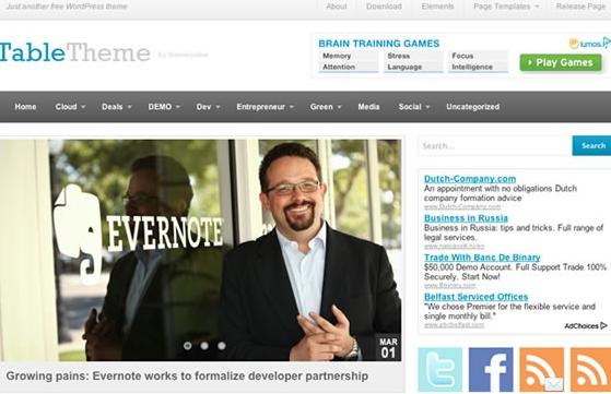 WordPress Portal Teması (2014)