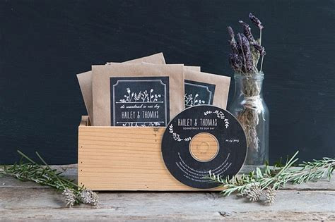 Wedding Favor Friday: CD Favors