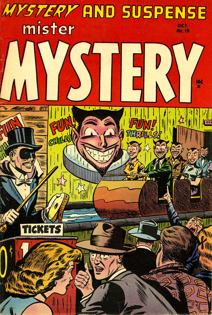 Mister Mystery #19 (Aragon Magazines, Inc., 1954)