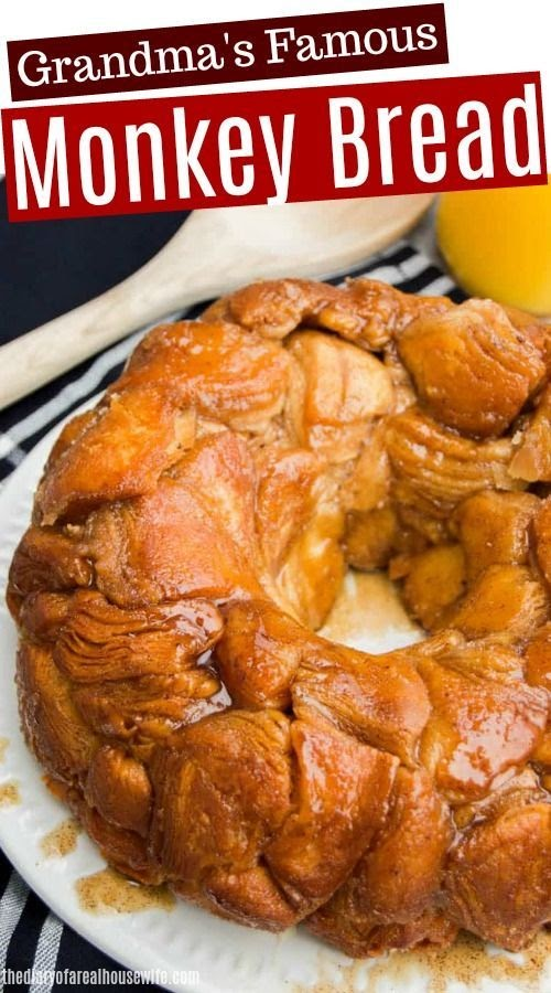 Monkey Bread With 1 Can Of Biscuits / Monkey Bread With 1 Can Of Biscuits / Two Plus Jilly Mini Monkey Bread Mini Monkey Bread Grand ... / Monkey bread spray a bundt pan with pam.