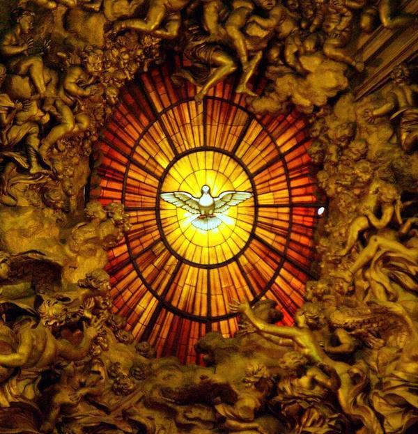 Znalezione obrazy dla zapytania duch święty tradycja katolicka