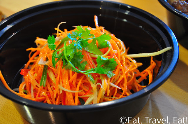 Easy Earthen, Rowland Heights, CA: Julienne Carrot Salad