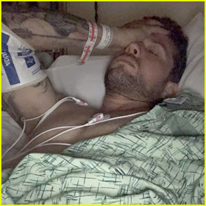 Ryan Phillippe Explains How He Broke His Leg, Shares Hospital Photos