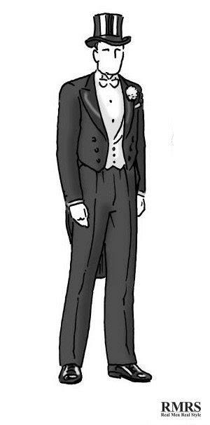 guide  social dress codes  men black tie