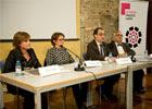 El director general per a la Immigració, Xavier Bosch, va presidir l'acte d'entrega al Pati Llimona de Barcelona