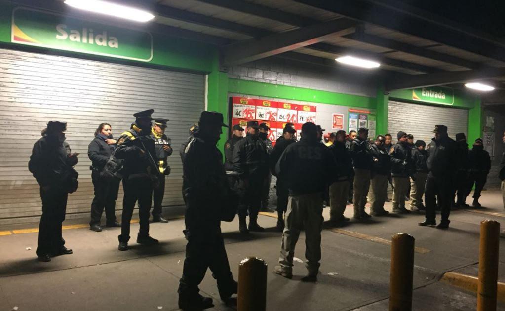 Suman 11 detenidos por intentos de saqueos en tiendas de Ecatepec