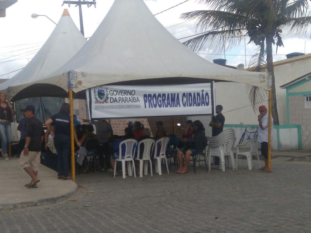 População de Caaporã recebe serviços do Programa Cidadão na próxima semana