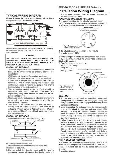 31 4 Wire Smoke Detector Wiring Diagram