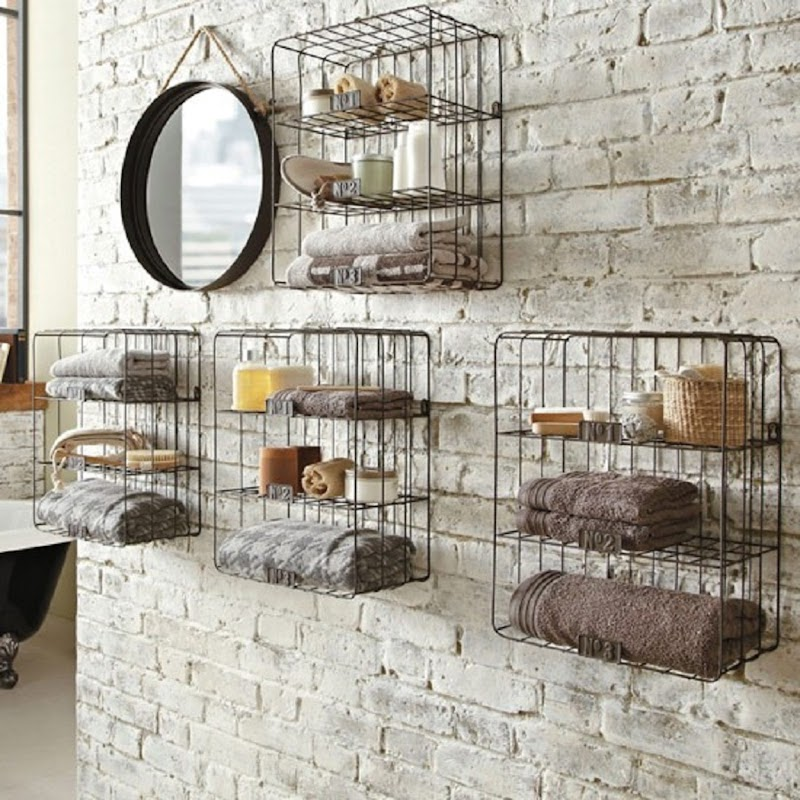 Get Inspired For Bathroom Wall Recessed Shelf pictures
