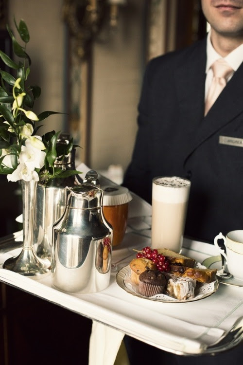 homebliss:  I love room service … by Denise Boman