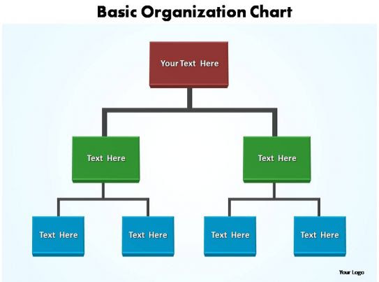 basic organization chart editable powerpoint templates Slide03