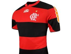 nova camisa do Flamengo reprodução (Foto: Reprodução)