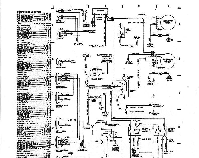 1984 Mustang 3 8l Wiring Diagrams